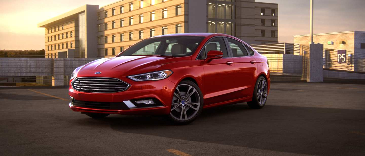 List of 2018 Ford Fusion color options