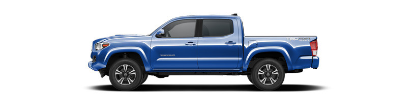 Gallery Of 2017 Toyota Tacoma Color Options