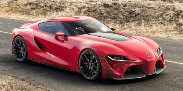2018 toyota supra. Brilliant Toyota Red Toyota FT1 Concept Front Exterior Throughout 2018 Toyota Supra R