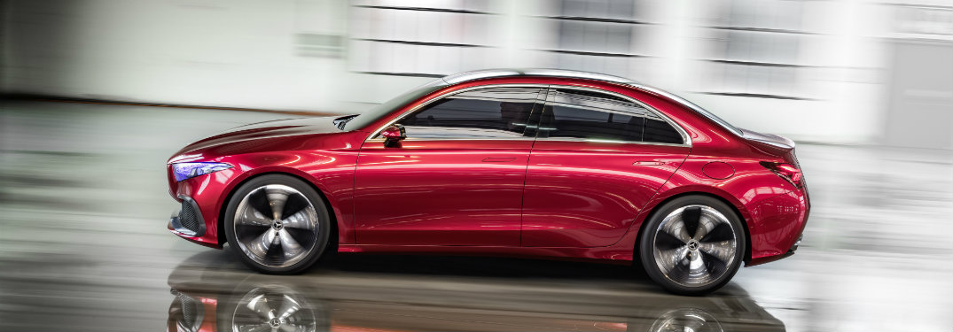 What is the Mercedes-Benz Concept A Sedan