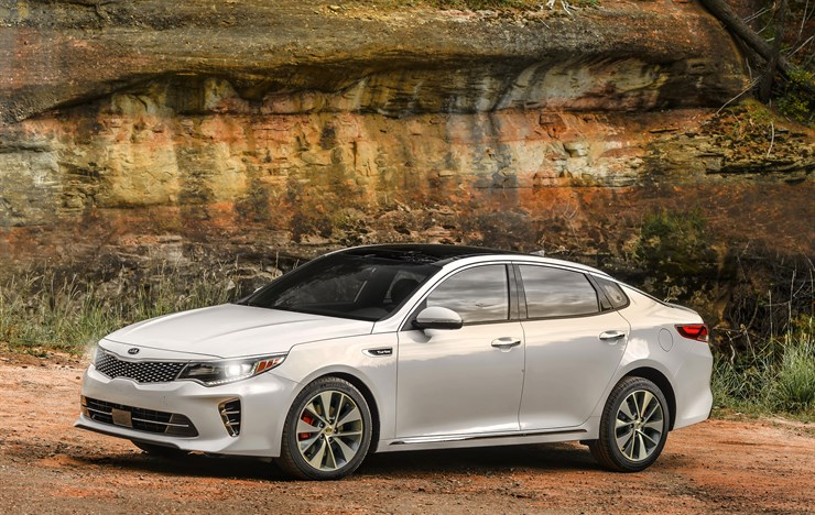 2017 Kia Optima Named a Leader in Safety
