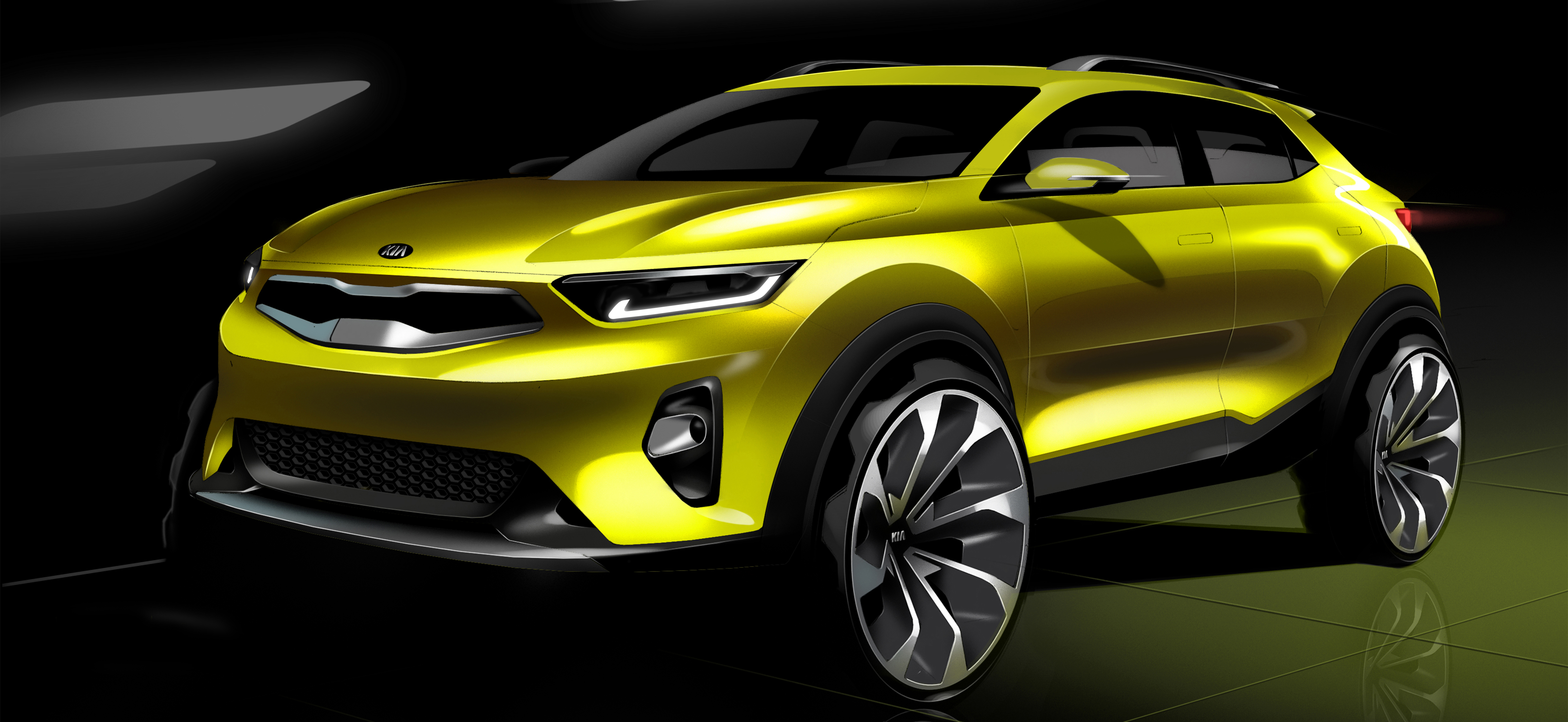 Introducing the world's newest Kia, the 2018 Stonic