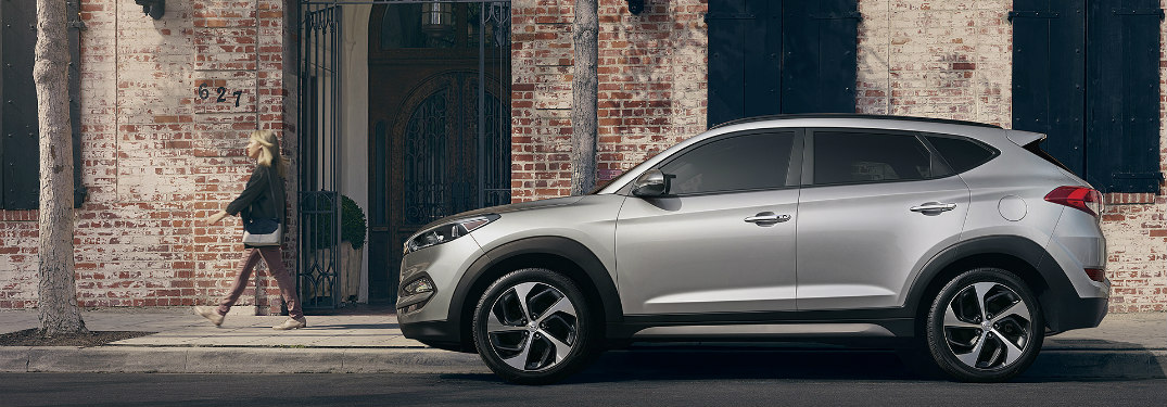 2017 Hyundai Tucson Color Options