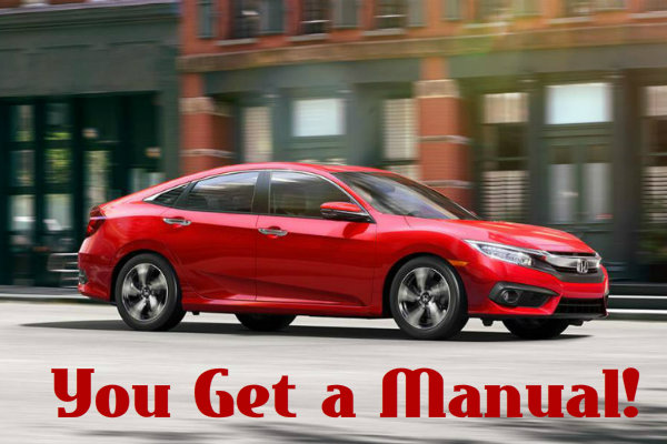Honda Civic Turbo Engines Get A Manual Transmission The Manual Is Coming To  The Turbo Thisu2026