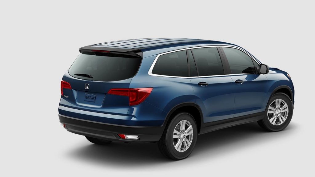 Honda Pilot Towing Capacity >> 2017 Honda Pilot exterior color options