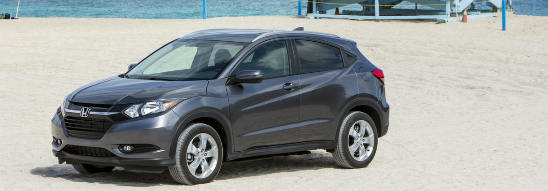 2017 Honda HR-V on sand