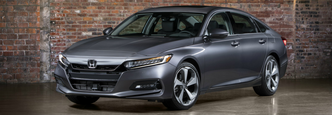 2018 Honda Accord Touring Trim gray side view