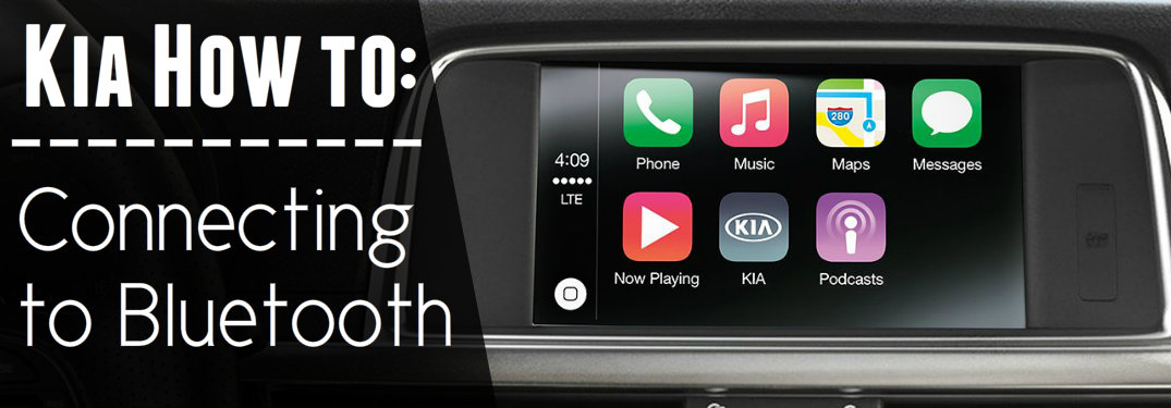 How to connect to Kia's Bluetooth