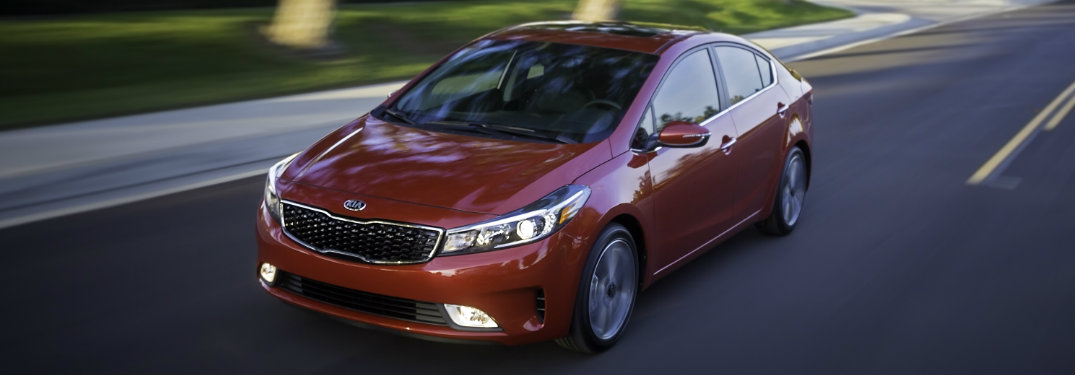 What safety features does the 2017 Kia Forte have
