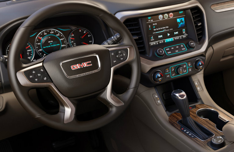 2017 gmc acadia with over 300 horsepower. Black Bedroom Furniture Sets. Home Design Ideas