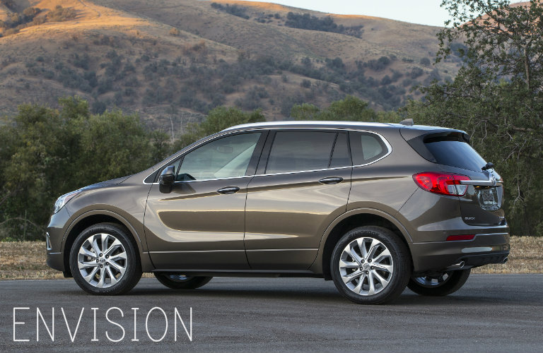 2016 buick envision vs 2016 buick enclave. Black Bedroom Furniture Sets. Home Design Ideas