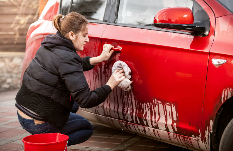 How To Clean Paint Off Car After Accident