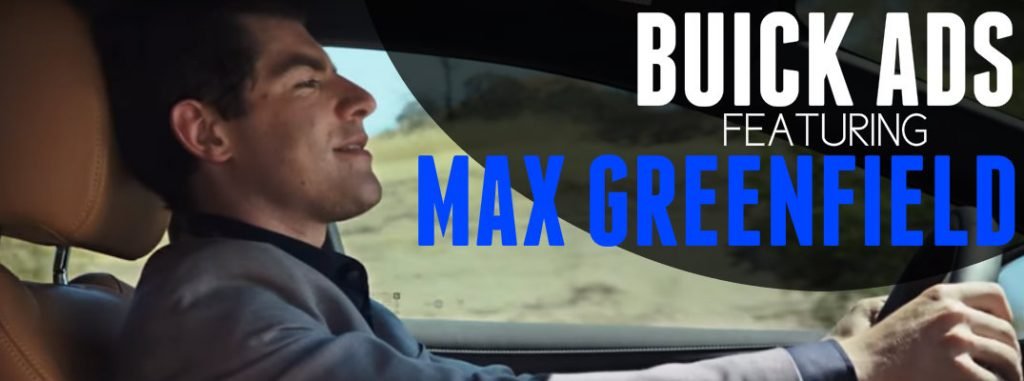 Max Greenfield From New Girl Buick Commercials