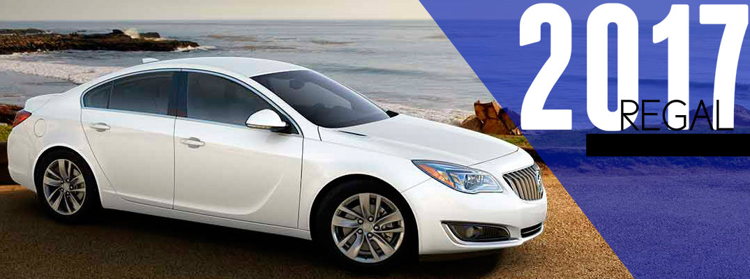 2017 Buick Regal With Available All-Wheel Drive