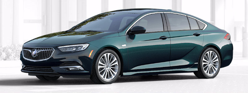 2018 Buick Regal Sportback Exterior Color Options
