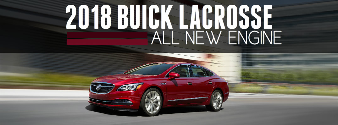 What's New for the 2018 Buick LaCrosse?