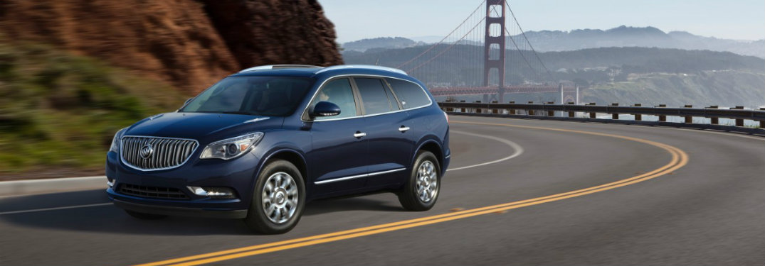 2017 Buick Enclave Towing Capacity and Performance