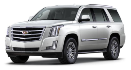 2017 Cadillac Escalade Crystal White Tricoat