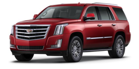 2017 Cadillac Escalade Red Passion Tintcoat