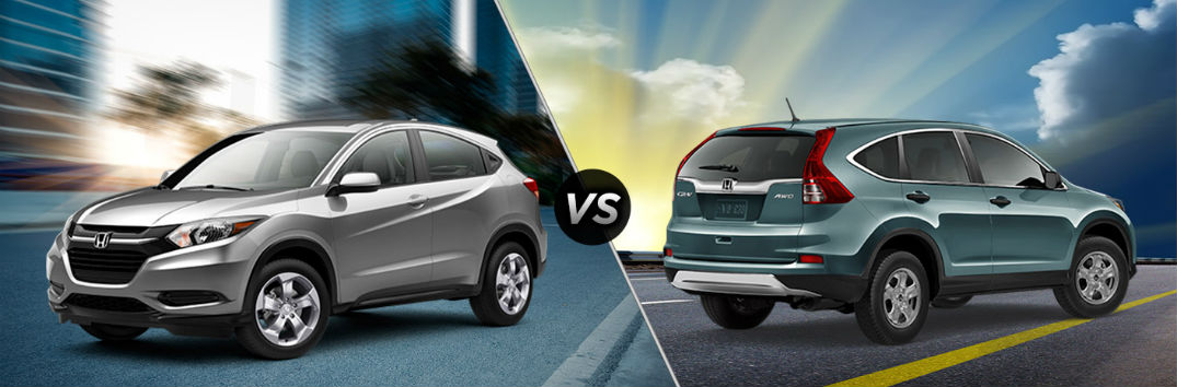 Honda crv vs hrv for Honda hrv lease