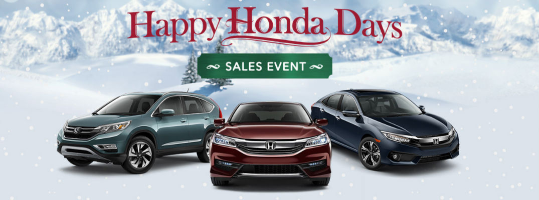 Get into a New Honda for the Holidays at Patty Peck Honda