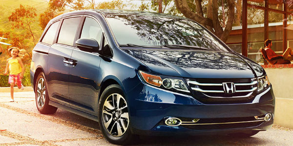 2016 Honda Odyssey Exterior View in Blue