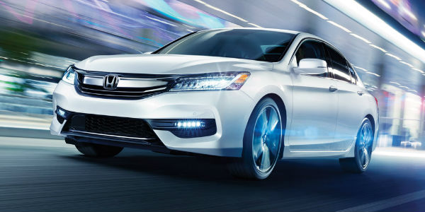 Honda Accord Exterior View in White