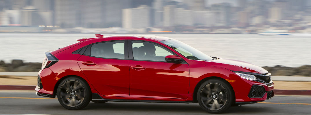 how much cargo space is in the 2017 honda civic hatchback. Black Bedroom Furniture Sets. Home Design Ideas