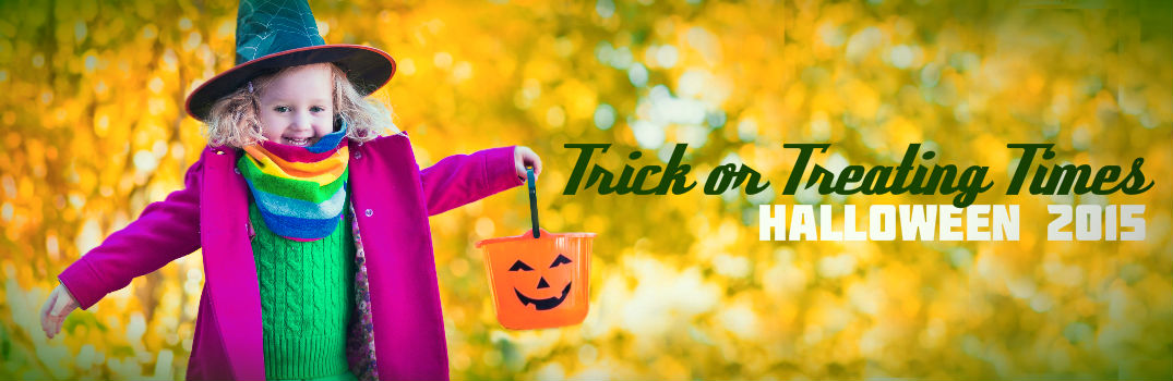 2015 Trick or treat times San Antonio