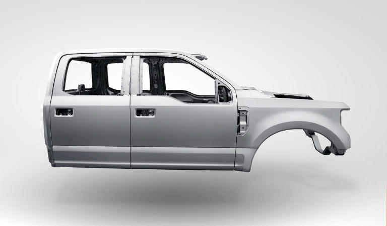 Why did Ford switch to aluminum in its trucks?