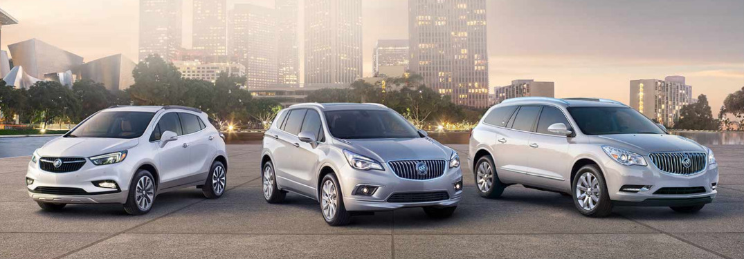 What are the Buick SUV models?