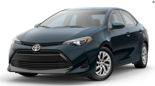 2017 Toyota Corolla Exterior Paint Color Options