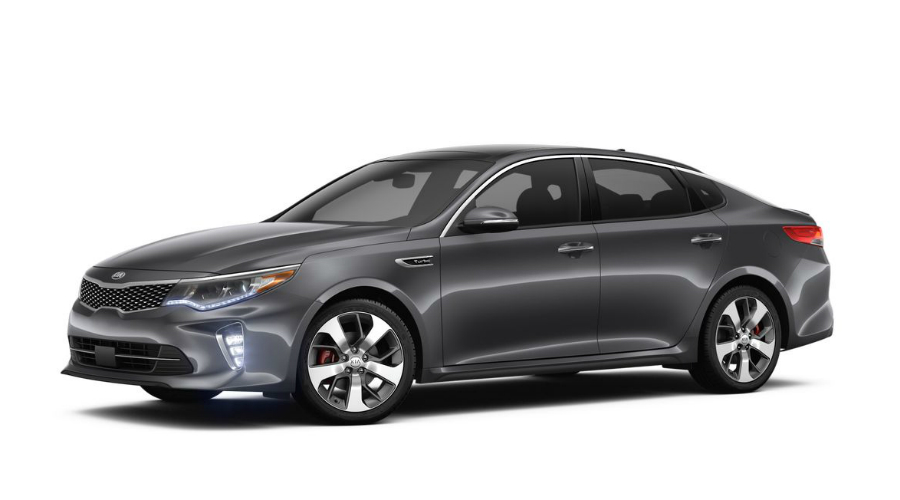 2018 Kia Optima in Platinum Graphite
