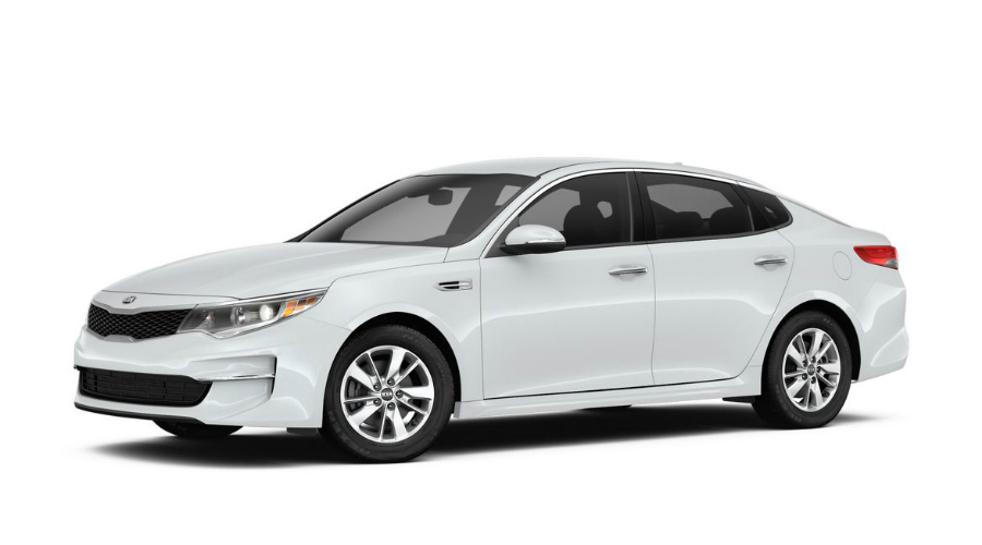 2018 Kia Optima in Snow White Pearl