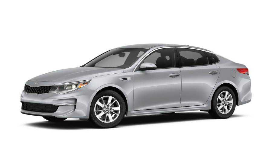 2018 Kia Optima in Silky Silver