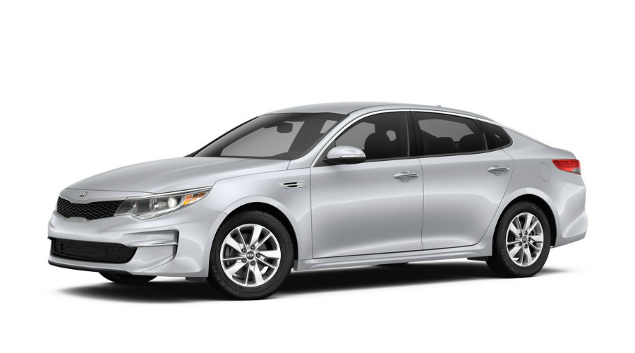 2018 Kia Optima in Sparkling Silver