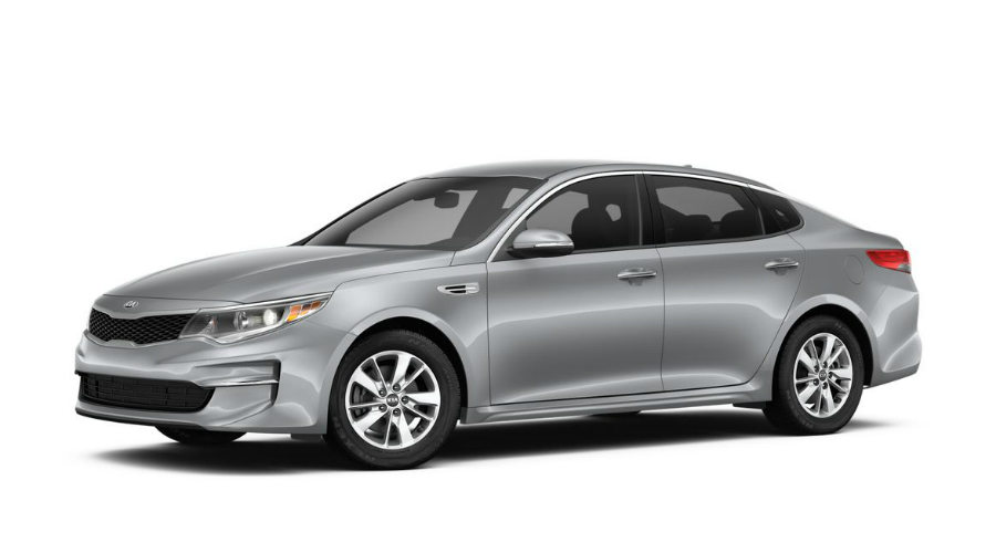 2018 Kia Optima in Titanium Silver