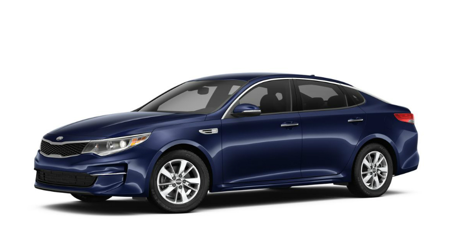 2018 Kia Optima in Horizon Blue