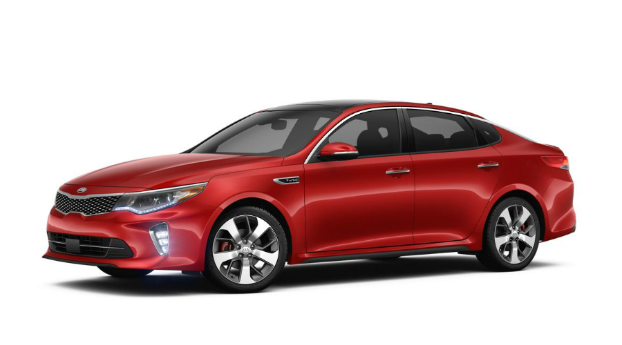 2018 Kia Optima in Remington Red