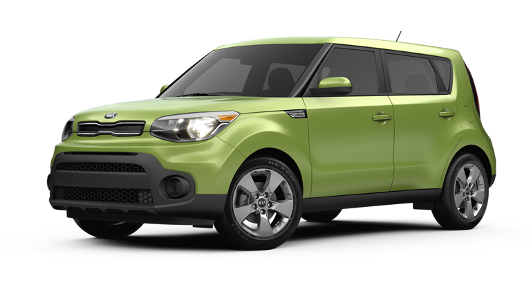 Color options for the 2017 Kia Soul