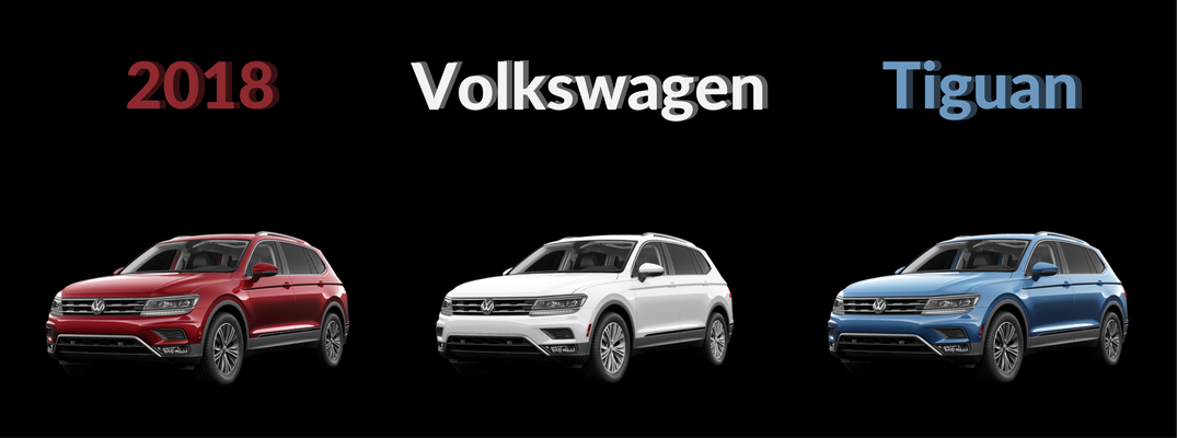 018 VW Tiguan Color Options -Red White and Blue Banner