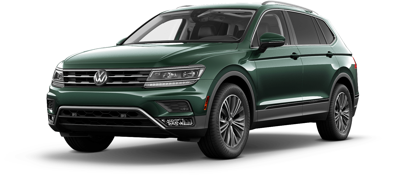 2018 VW Tiguan Dark Moss Green Metallic