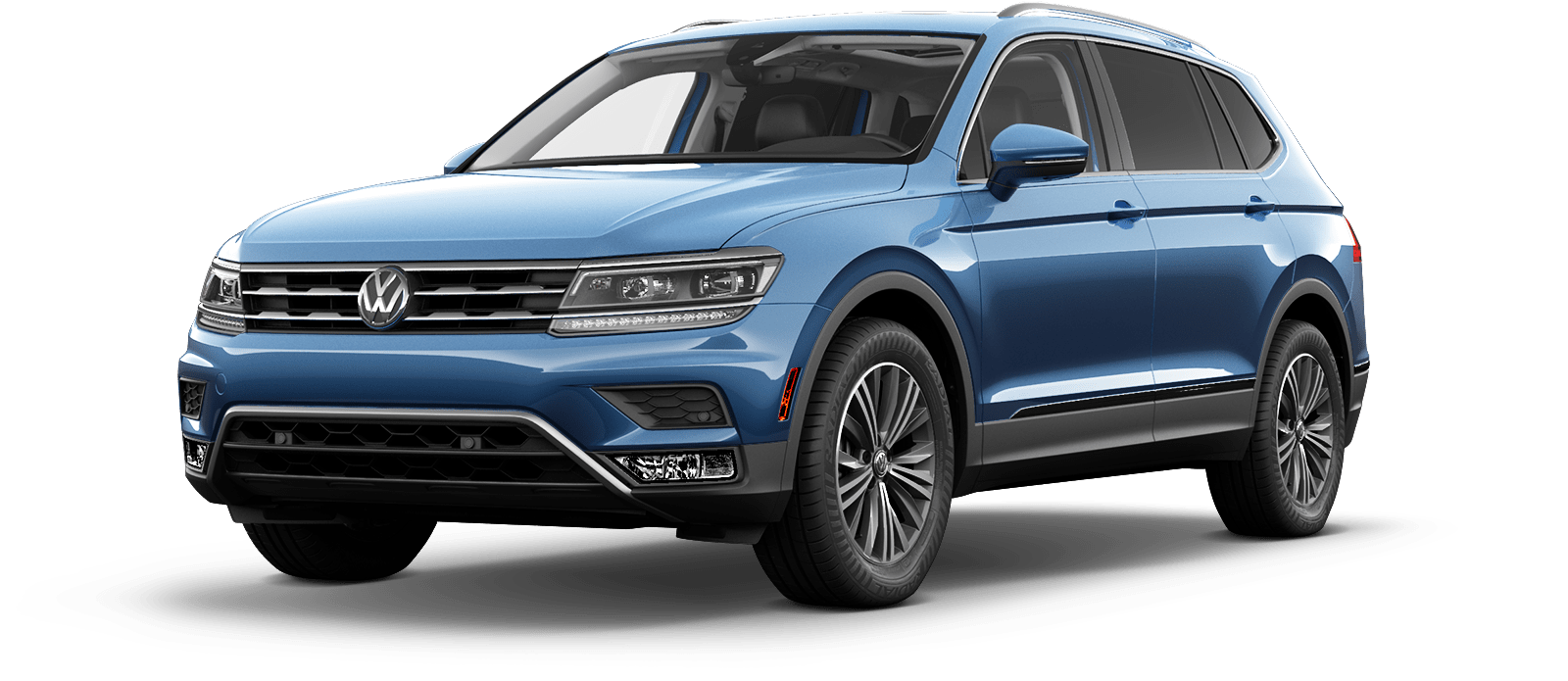 2018 VW Tiguan Silk Blue Metallic