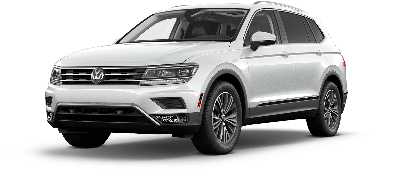 2018 VW Tiguan White Silver Metallic