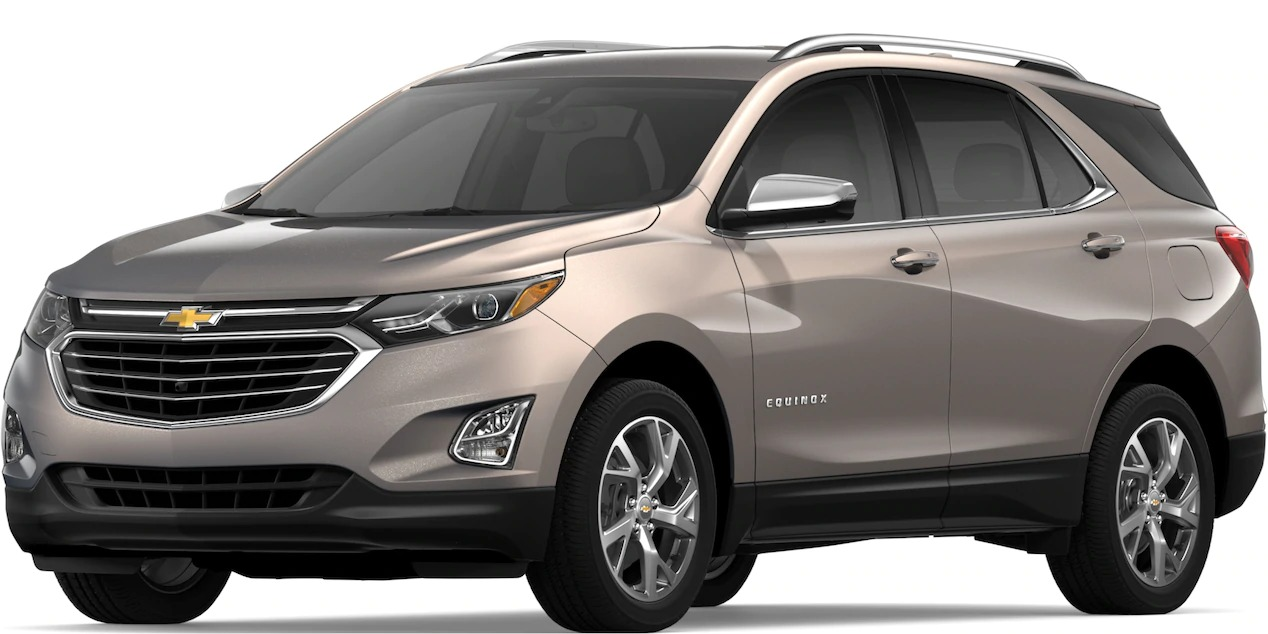 2019 Chevy Equinox Pepperdust Metallic side view