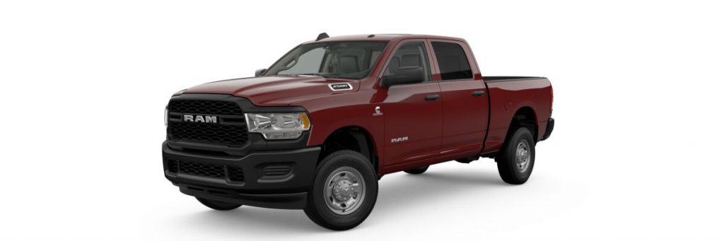 2019 Ram 2500 in bright red