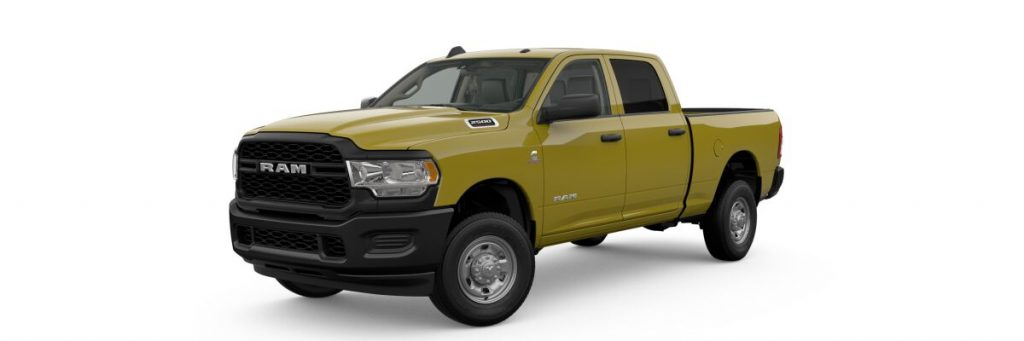 2019 Ram 2500 in construction yellow