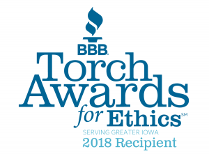 2018 Torch Awards for Ethics Recipient
