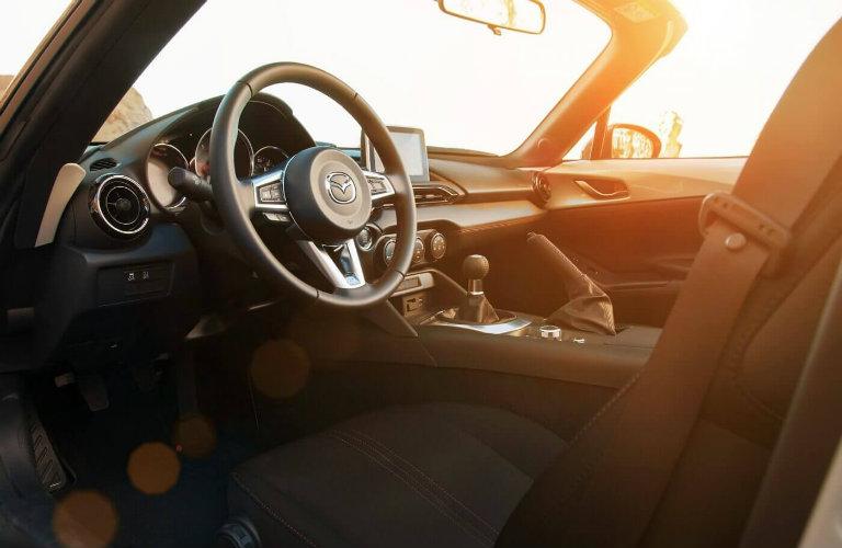 mazda miata front seats, steering wheel