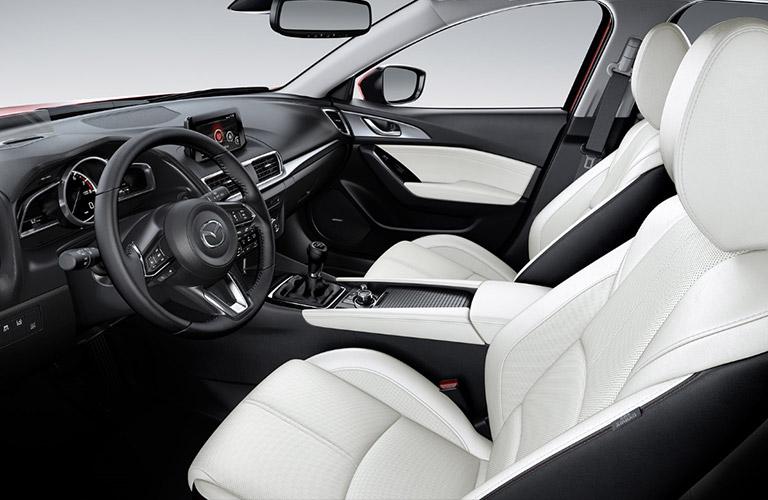 2018 Mazda Mazda3 Interior Front